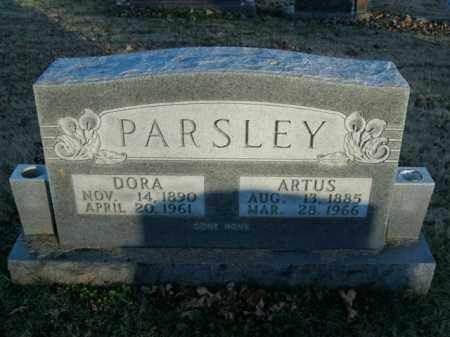 PARSLEY, DORA M - Boone County, Arkansas   DORA M PARSLEY - Arkansas Gravestone Photos