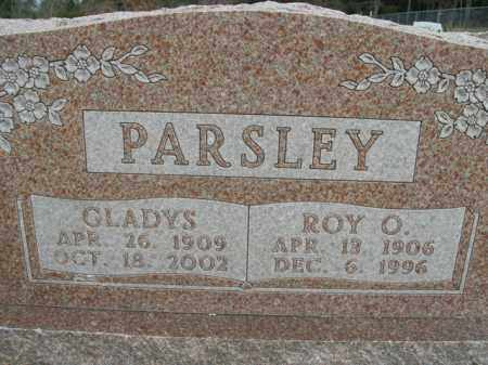 PARSLEY, GLADYS - Boone County, Arkansas | GLADYS PARSLEY - Arkansas Gravestone Photos