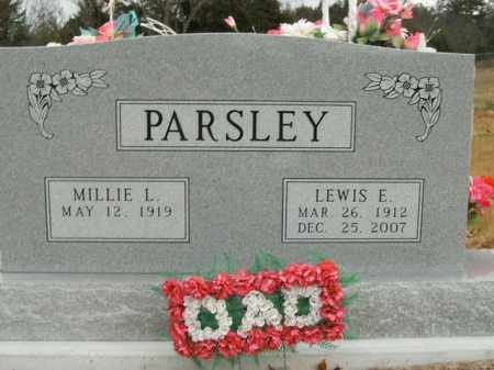 PARSLEY, LEWIS E. - Boone County, Arkansas | LEWIS E. PARSLEY - Arkansas Gravestone Photos