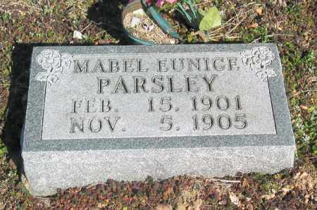 PARSLEY, MABLE EUNICE - Boone County, Arkansas | MABLE EUNICE PARSLEY - Arkansas Gravestone Photos
