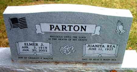 PARTON, ELMER J - Boone County, Arkansas | ELMER J PARTON - Arkansas Gravestone Photos