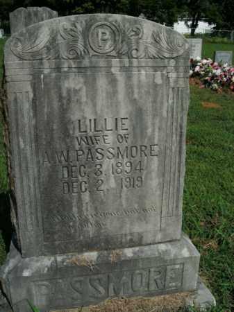 PASSMORE, LILLIE - Boone County, Arkansas | LILLIE PASSMORE - Arkansas Gravestone Photos