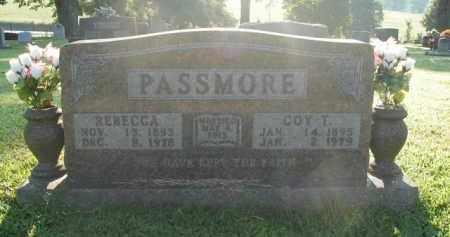 PASSMORE, REBECCA - Boone County, Arkansas | REBECCA PASSMORE - Arkansas Gravestone Photos