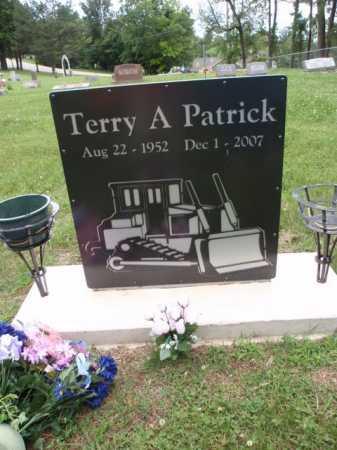 PATRICK, TERRY A. - Boone County, Arkansas | TERRY A. PATRICK - Arkansas Gravestone Photos