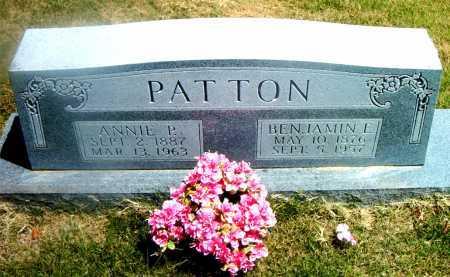 PATTON, ANNIE  P. - Boone County, Arkansas | ANNIE  P. PATTON - Arkansas Gravestone Photos