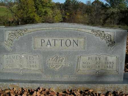 PATTON, JAMES VES - Boone County, Arkansas | JAMES VES PATTON - Arkansas Gravestone Photos