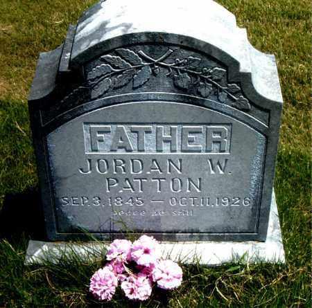 PATTON, JORDAN WASHINGTON - Boone County, Arkansas   JORDAN WASHINGTON PATTON - Arkansas Gravestone Photos