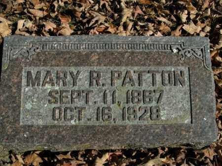 PATTON, MARY R. - Boone County, Arkansas | MARY R. PATTON - Arkansas Gravestone Photos