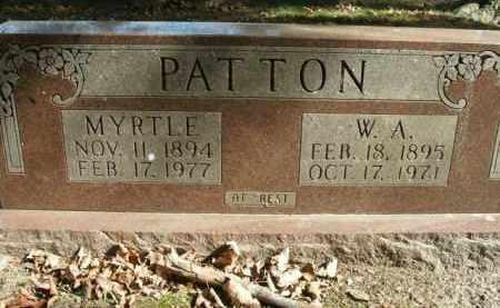 PATTON, MYRTLE - Boone County, Arkansas | MYRTLE PATTON - Arkansas Gravestone Photos