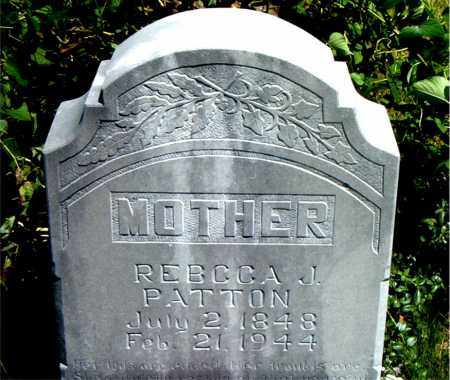 PATTON, REBECCA  JANE - Boone County, Arkansas | REBECCA  JANE PATTON - Arkansas Gravestone Photos
