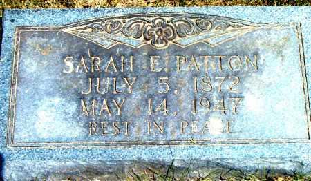 PATTON, SARAH  E. - Boone County, Arkansas | SARAH  E. PATTON - Arkansas Gravestone Photos
