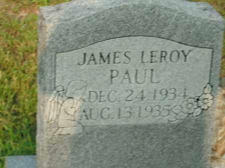 PAUL, JAMES LEROY - Boone County, Arkansas | JAMES LEROY PAUL - Arkansas Gravestone Photos