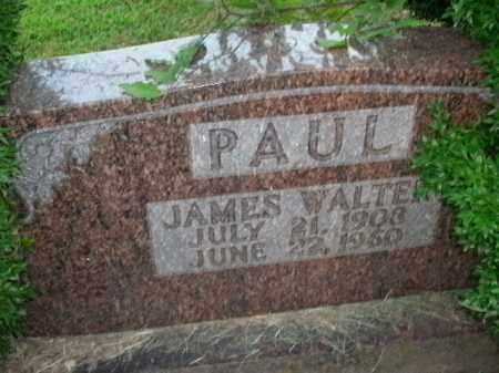 PAUL, JAMES WALTER - Boone County, Arkansas | JAMES WALTER PAUL - Arkansas Gravestone Photos