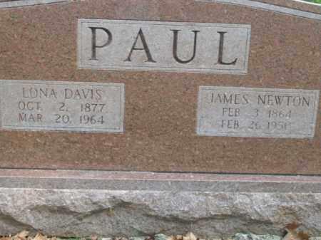 PAUL, JAMES NEWTON - Boone County, Arkansas | JAMES NEWTON PAUL - Arkansas Gravestone Photos
