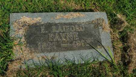 PAYNE, E. RAIFORD - Boone County, Arkansas | E. RAIFORD PAYNE - Arkansas Gravestone Photos
