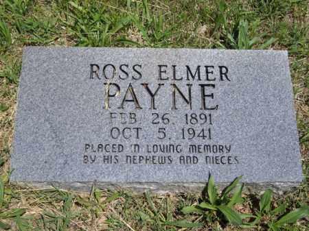 PAYNE, ROSS ELMER - Boone County, Arkansas   ROSS ELMER PAYNE - Arkansas Gravestone Photos