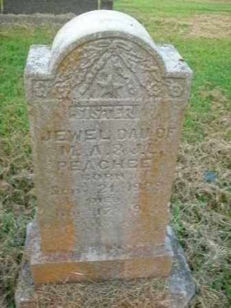 PEACHEE, JEWEL - Boone County, Arkansas | JEWEL PEACHEE - Arkansas Gravestone Photos