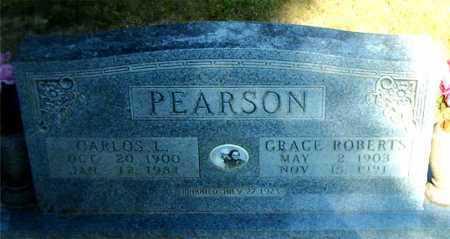 PEARSON, GRACE E. - Boone County, Arkansas   GRACE E. PEARSON - Arkansas Gravestone Photos