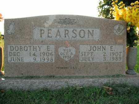 PEARSON, JOHN E. - Boone County, Arkansas | JOHN E. PEARSON - Arkansas Gravestone Photos