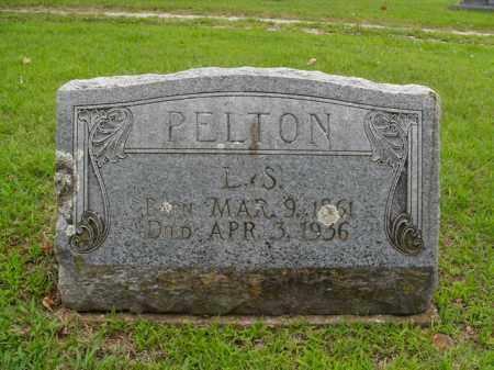 PELTON, L. S. - Boone County, Arkansas | L. S. PELTON - Arkansas Gravestone Photos
