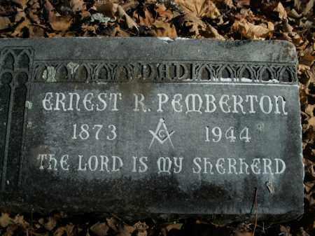 PEMBERTON, ERNEST R. - Boone County, Arkansas   ERNEST R. PEMBERTON - Arkansas Gravestone Photos