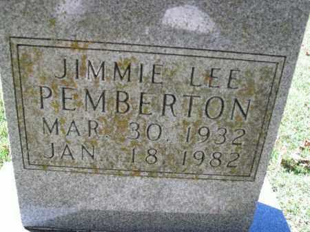 PEMBERTON, JIMMIE LEE - Boone County, Arkansas | JIMMIE LEE PEMBERTON - Arkansas Gravestone Photos