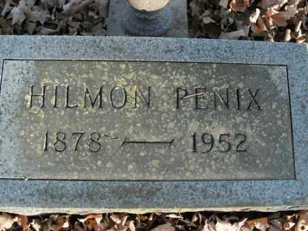 PENIX, HILMON - Boone County, Arkansas   HILMON PENIX - Arkansas Gravestone Photos