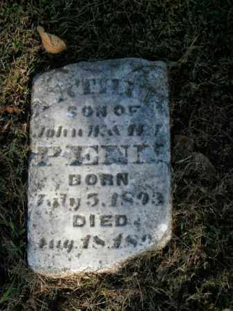 PENN, ARTHUR - Boone County, Arkansas   ARTHUR PENN - Arkansas Gravestone Photos