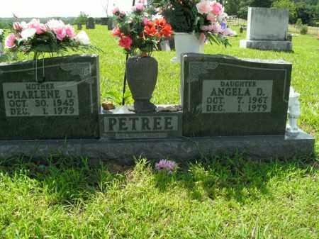 PETREE, ANGELA D. - Boone County, Arkansas | ANGELA D. PETREE - Arkansas Gravestone Photos