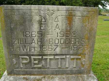 PETTIT, E.ALEXANDER - Boone County, Arkansas | E.ALEXANDER PETTIT - Arkansas Gravestone Photos