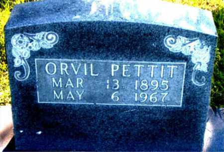 PETTIT, ORVIL - Boone County, Arkansas   ORVIL PETTIT - Arkansas Gravestone Photos