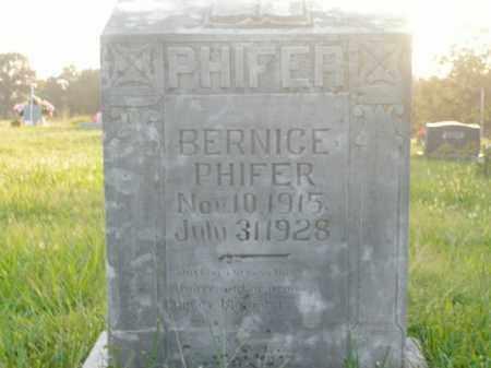 PHIFER, BERNICE - Boone County, Arkansas | BERNICE PHIFER - Arkansas Gravestone Photos