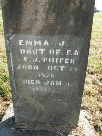 PHIFER, EMMA J. - Boone County, Arkansas   EMMA J. PHIFER - Arkansas Gravestone Photos