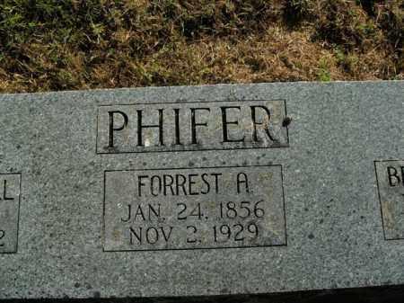 PHIFER, FORREST A. - Boone County, Arkansas | FORREST A. PHIFER - Arkansas Gravestone Photos