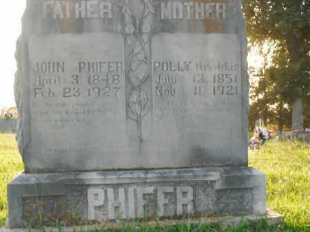 PHIFER, POLLY - Boone County, Arkansas | POLLY PHIFER - Arkansas Gravestone Photos