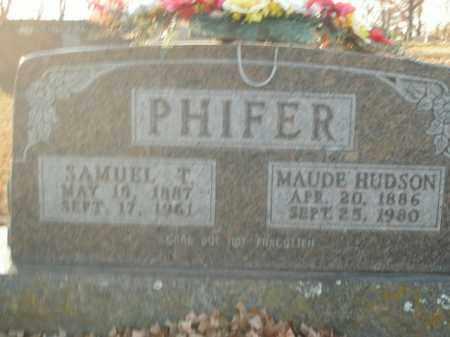 PHIFER, MAUDE - Boone County, Arkansas   MAUDE PHIFER - Arkansas Gravestone Photos