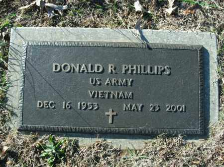 PHILLIPS  (VETERAN VIET), DONALD R - Boone County, Arkansas | DONALD R PHILLIPS  (VETERAN VIET) - Arkansas Gravestone Photos