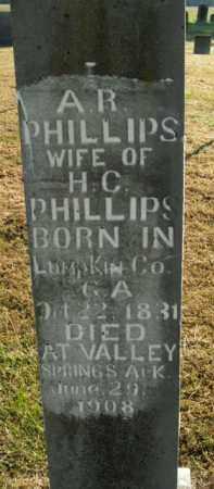PHILLIPS, ARMENIA R. - Boone County, Arkansas | ARMENIA R. PHILLIPS - Arkansas Gravestone Photos