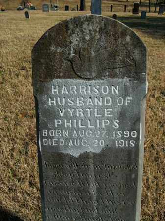 PHILLIPS, HARRISON - Boone County, Arkansas | HARRISON PHILLIPS - Arkansas Gravestone Photos