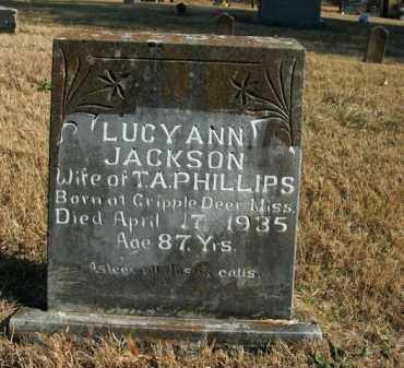 JACKSON PHILLIPS, LUCY ANN - Boone County, Arkansas | LUCY ANN JACKSON PHILLIPS - Arkansas Gravestone Photos