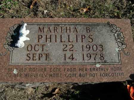BARNETT PHILLIPS, MARTHA B. - Boone County, Arkansas   MARTHA B. BARNETT PHILLIPS - Arkansas Gravestone Photos