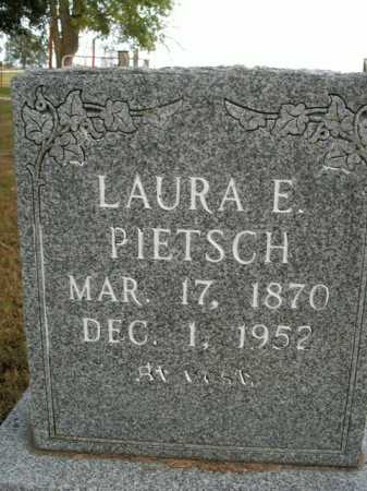 PIETSCH, LAURA E. - Boone County, Arkansas | LAURA E. PIETSCH - Arkansas Gravestone Photos