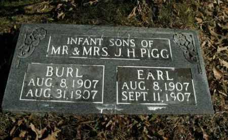 PIGG, EARL - Boone County, Arkansas   EARL PIGG - Arkansas Gravestone Photos