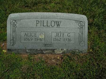 PILLOW, ALICE C. - Boone County, Arkansas   ALICE C. PILLOW - Arkansas Gravestone Photos
