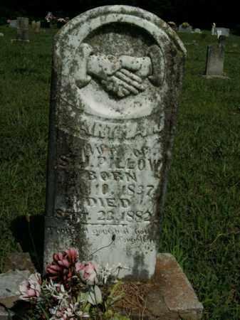 PILLOW, MARTHA J. - Boone County, Arkansas | MARTHA J. PILLOW - Arkansas Gravestone Photos