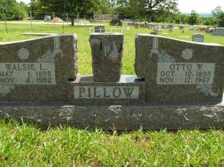 PILLOW, WALSIE L - Boone County, Arkansas | WALSIE L PILLOW - Arkansas Gravestone Photos