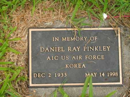 PINKLEY  (VETERAN KOR), DANIEL RAY - Boone County, Arkansas | DANIEL RAY PINKLEY  (VETERAN KOR) - Arkansas Gravestone Photos