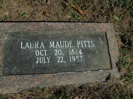PITTS, LAURA MAUDE - Boone County, Arkansas | LAURA MAUDE PITTS - Arkansas Gravestone Photos