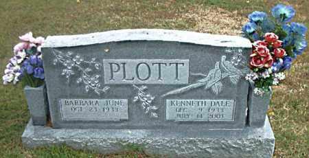 PLOTT, KENNETH DALE - Boone County, Arkansas | KENNETH DALE PLOTT - Arkansas Gravestone Photos