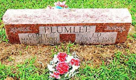 PLUMLEE, GERTIE - Boone County, Arkansas | GERTIE PLUMLEE - Arkansas Gravestone Photos